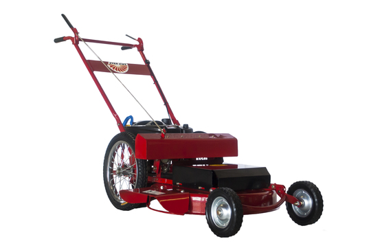 Stand Behind Lawn Mower >> Bradley Even Cut 24 Self Propelled Commercial Push Mower