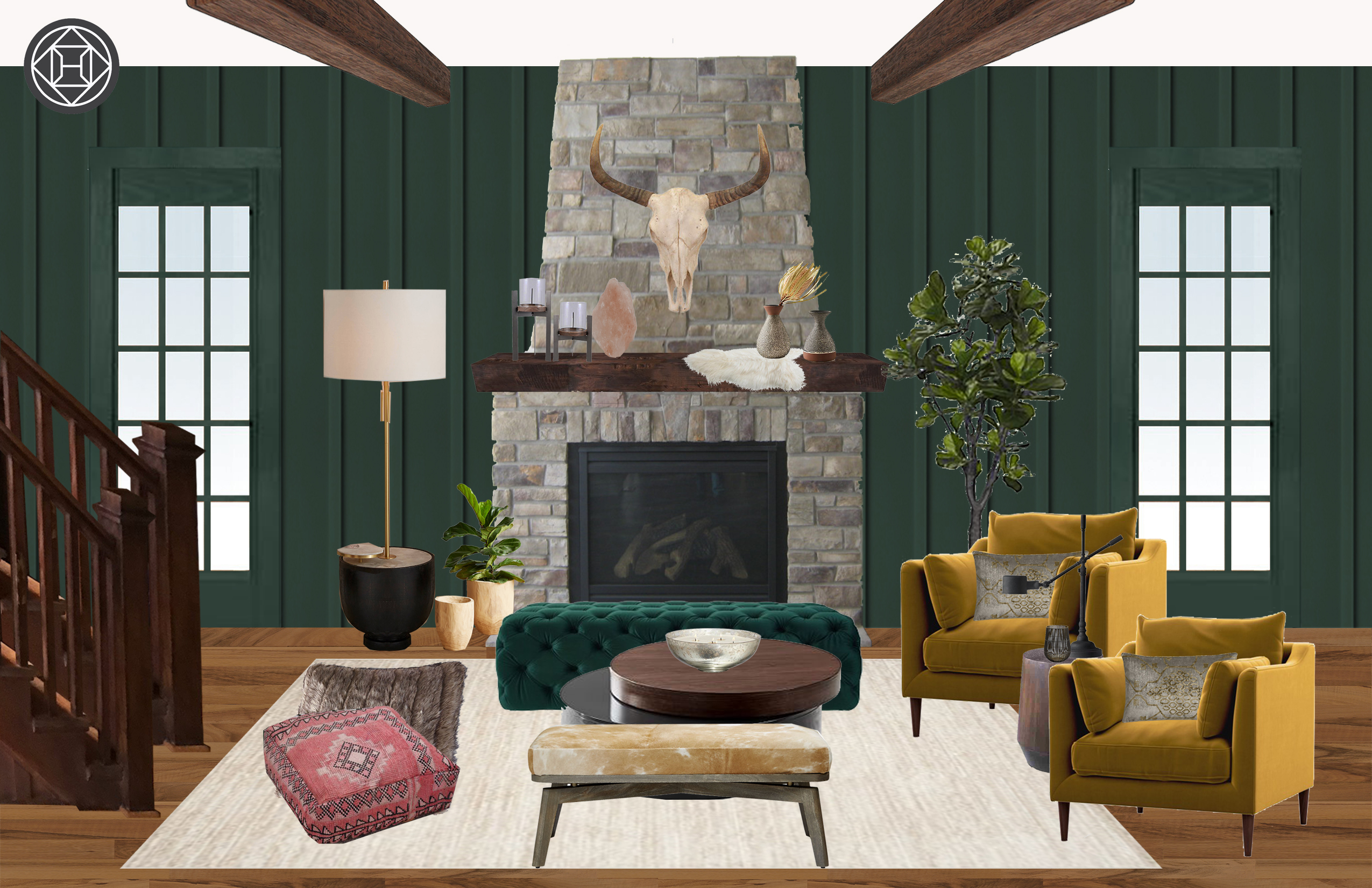 Eclectic Bohemian Global Design By Havenly Interior Designer Alexis