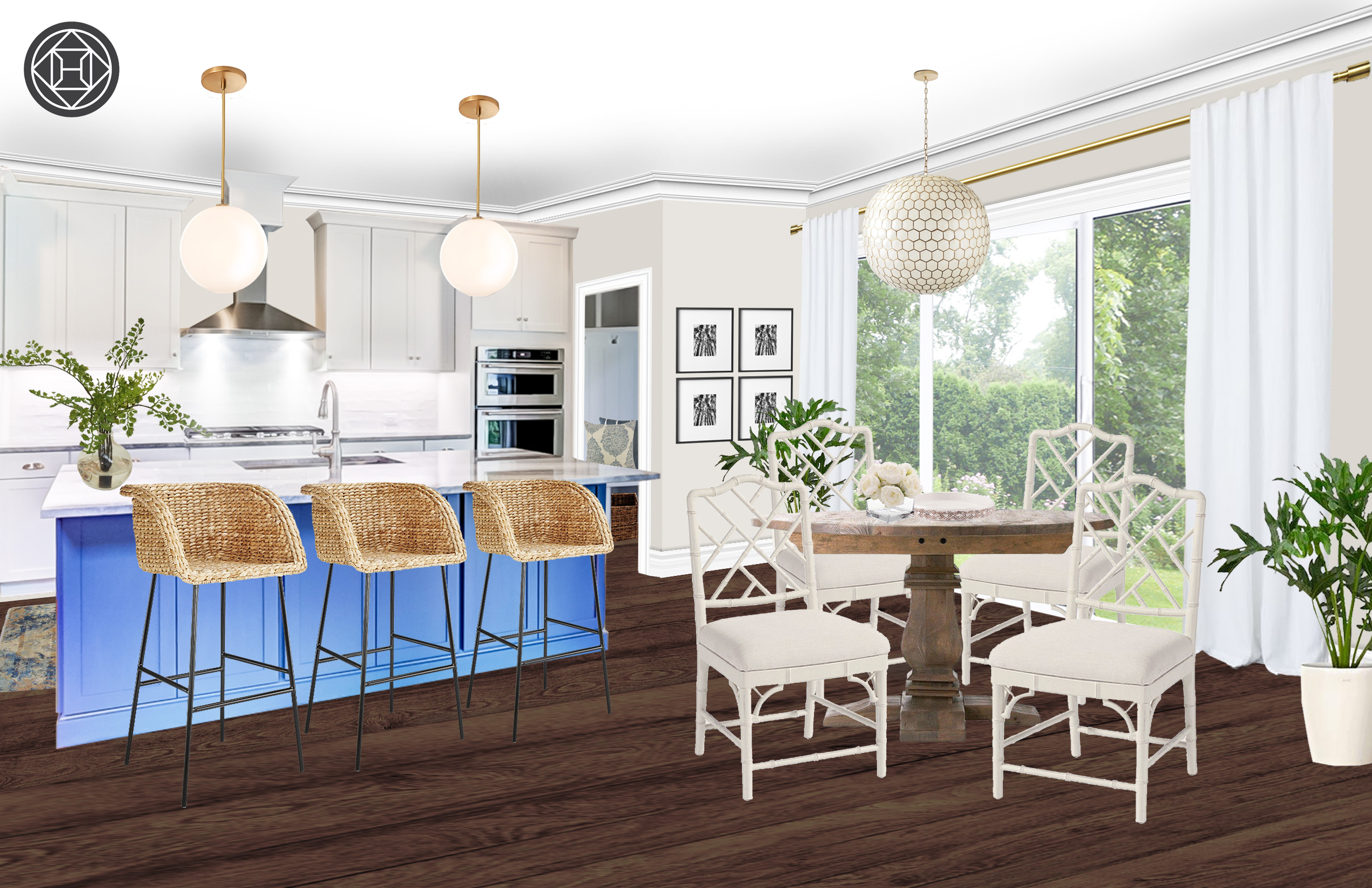 Fantastic Modern Classic Farmhouse Transitional Dining Room Design Pdpeps Interior Chair Design Pdpepsorg