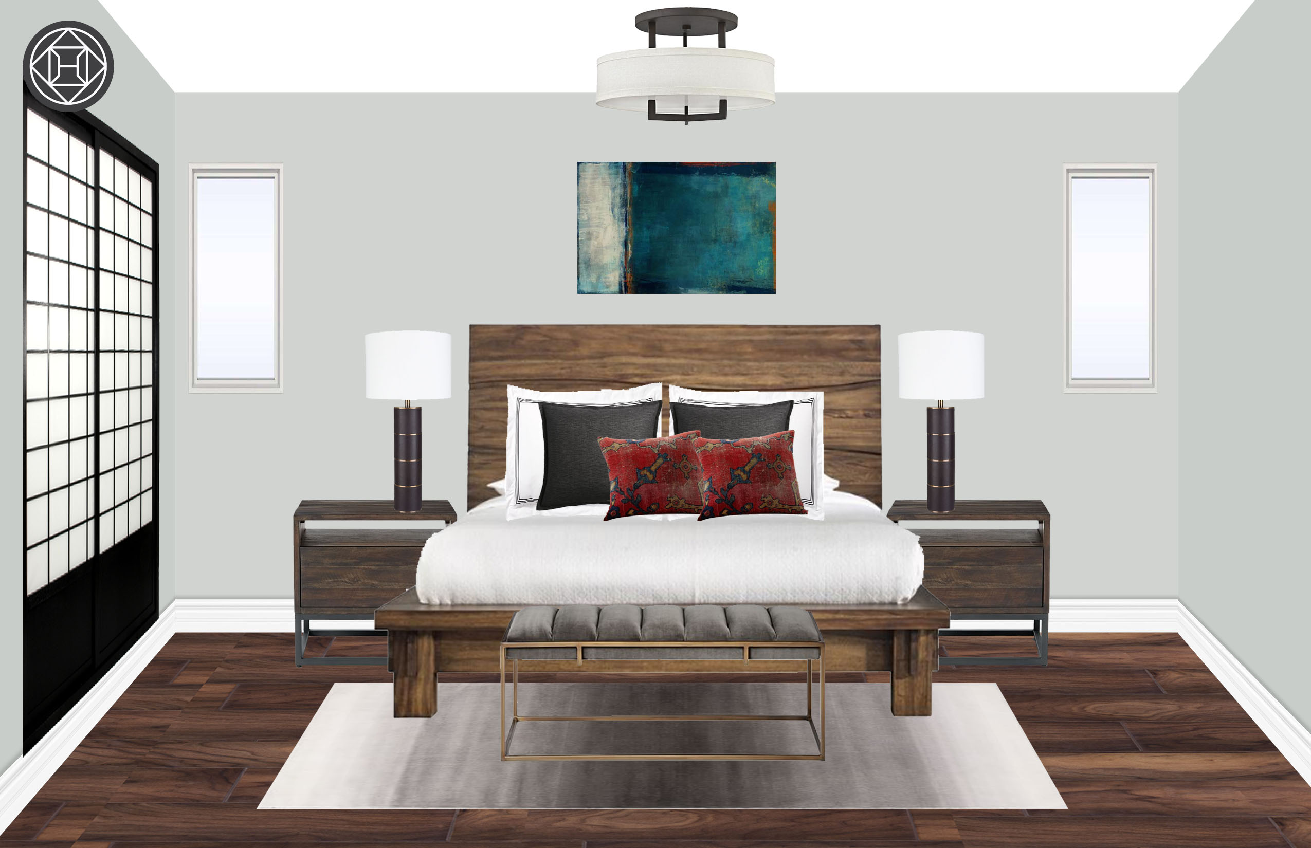 nicole sheahan interior designer havenly nicole zen bedroom
