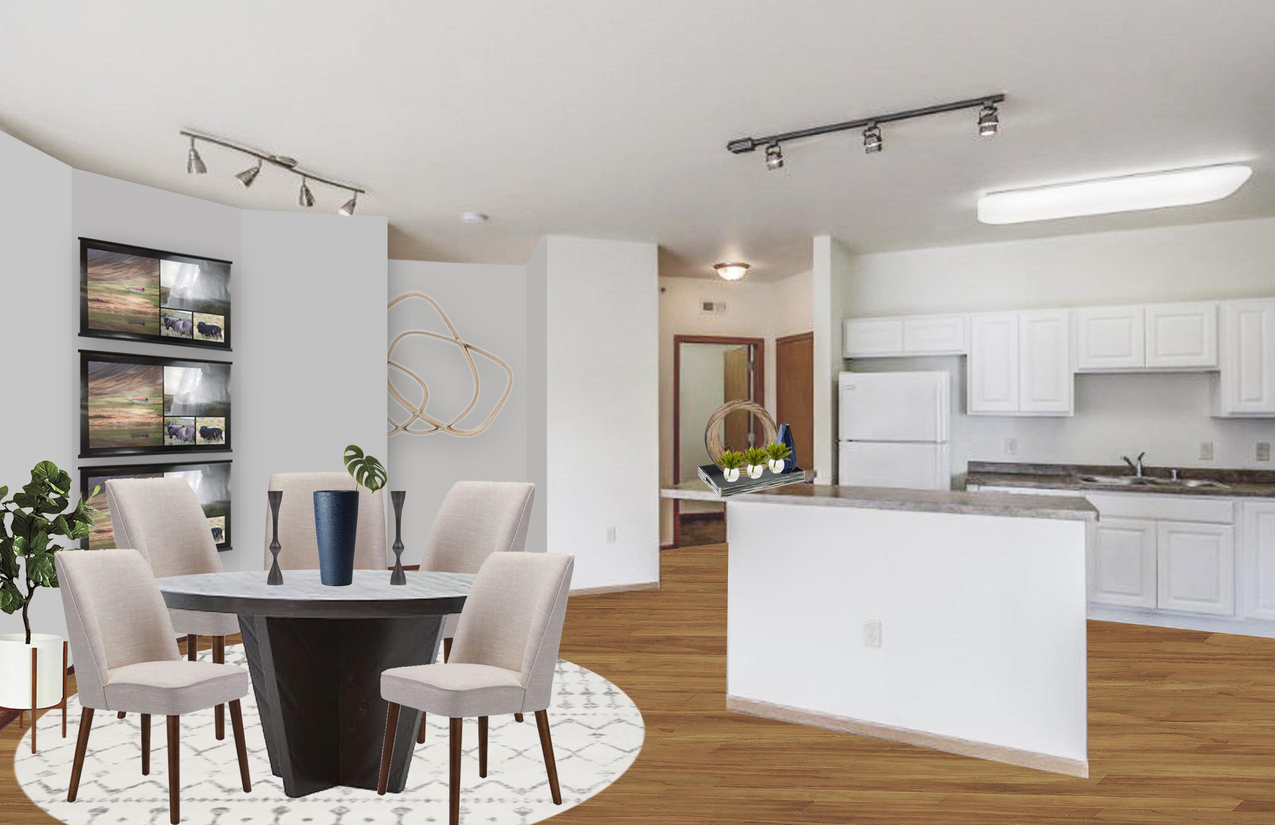 . Modern Dining Room Design by Havenly Interior Designer Karen