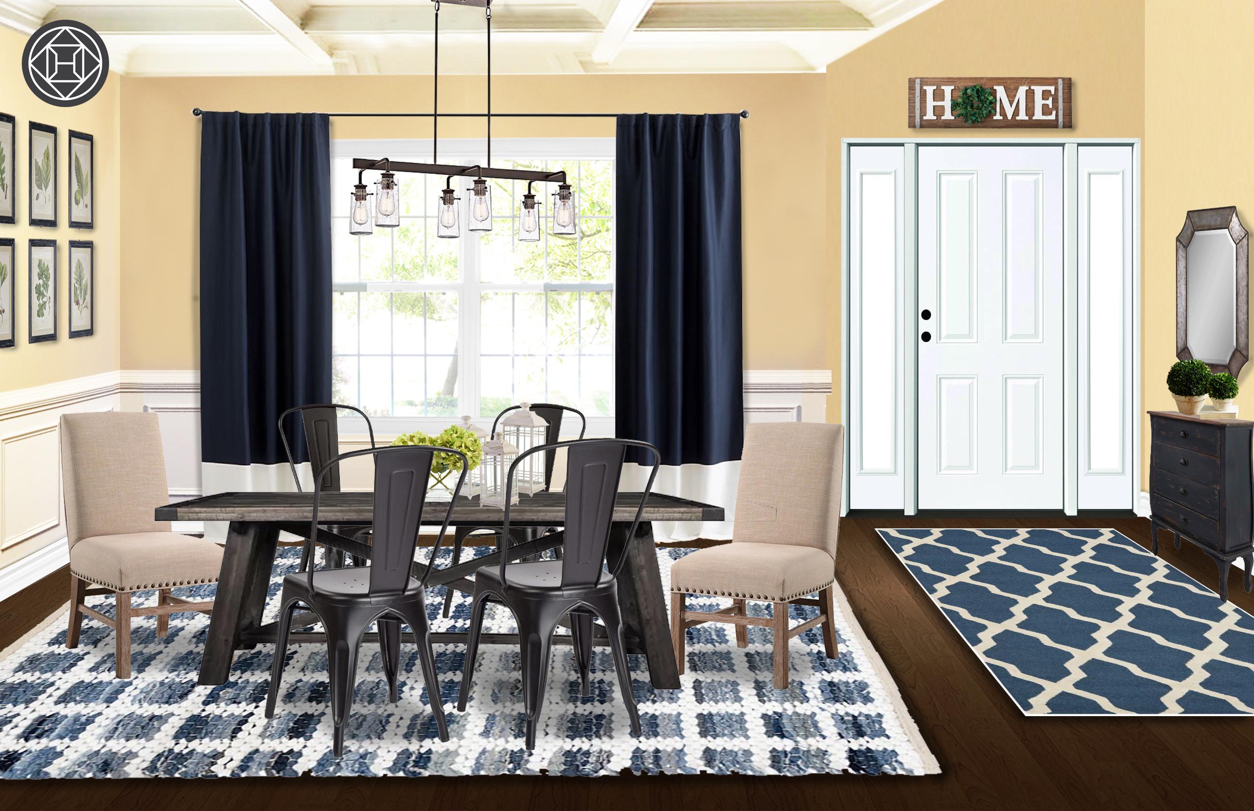 farmhouse, rustic dining room designhavenly interior designer