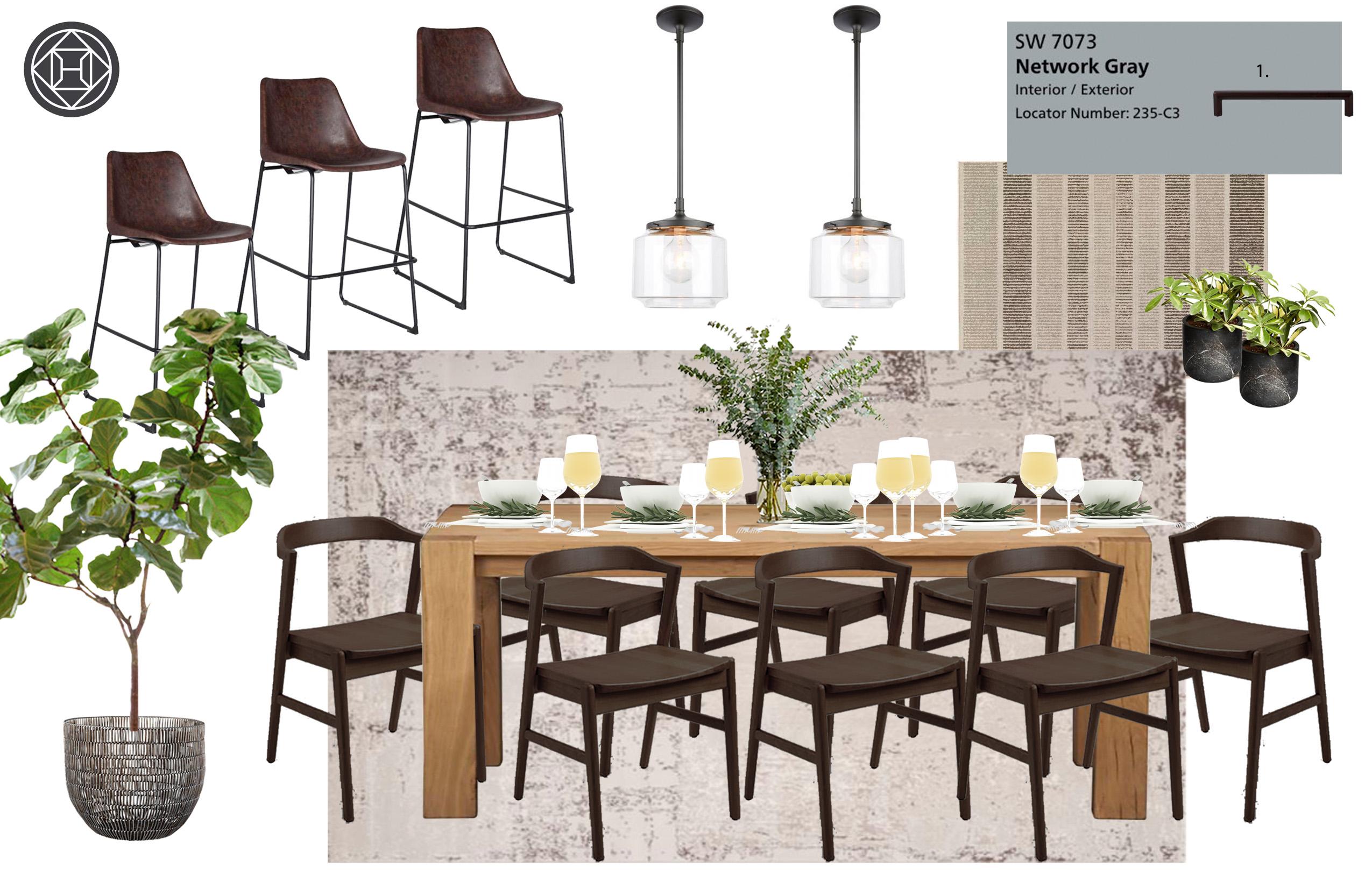 Industrial / Rustic Kitchen Interior Design By Nicolle