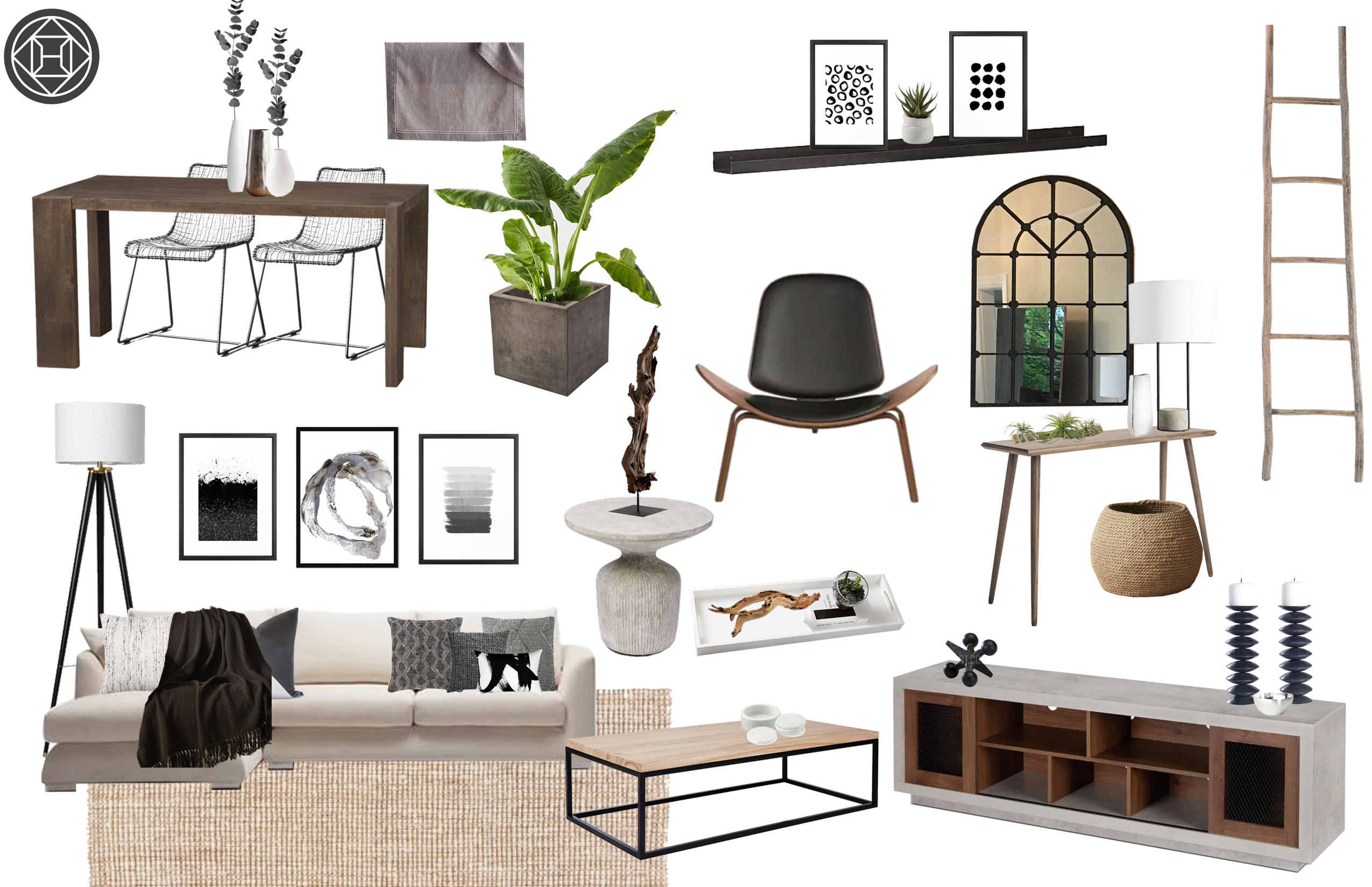 Cool Industrial Midcentury Modern Scandinavian Living Room Ocoug Best Dining Table And Chair Ideas Images Ocougorg