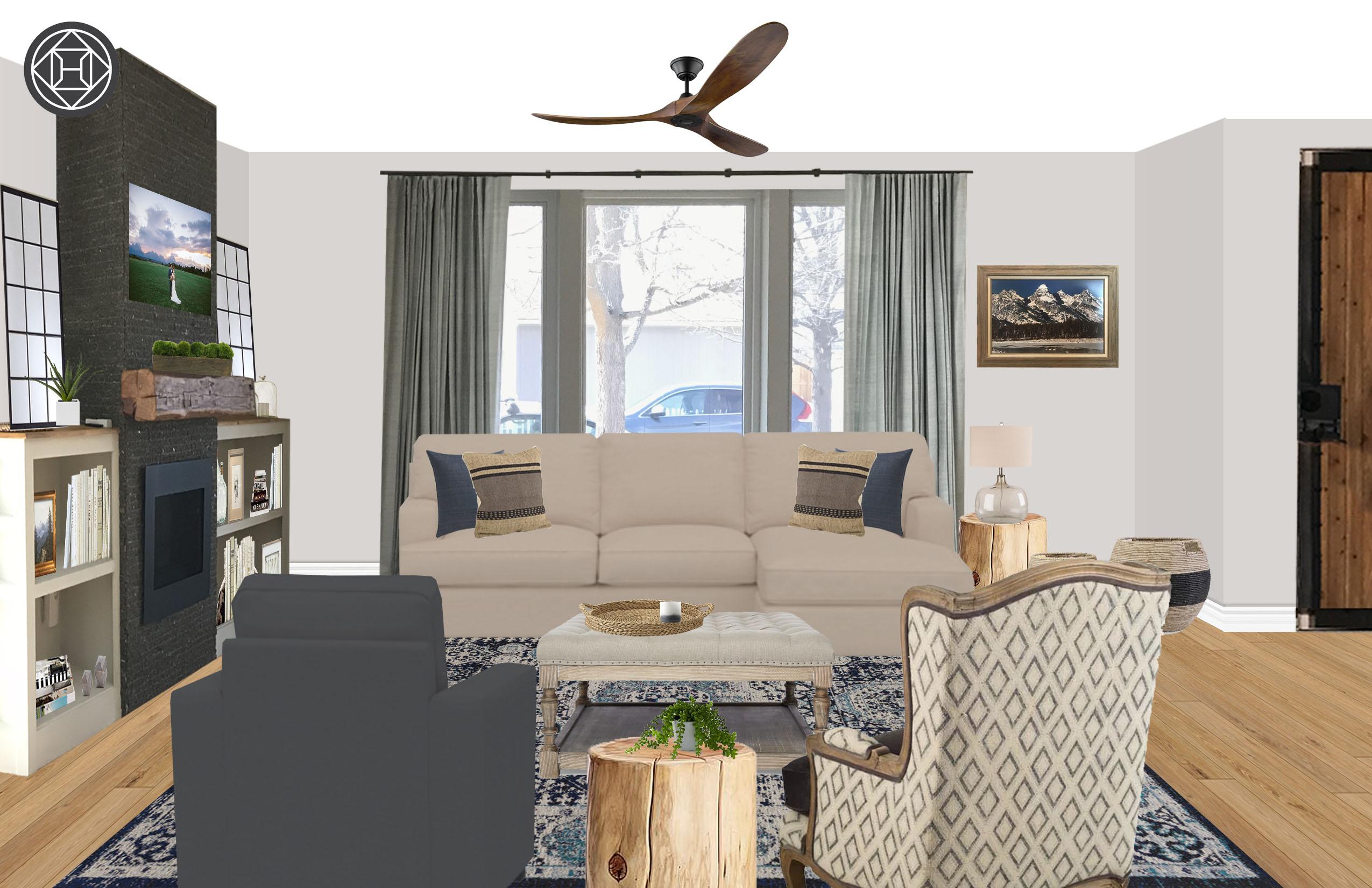 Living Room  Final Design