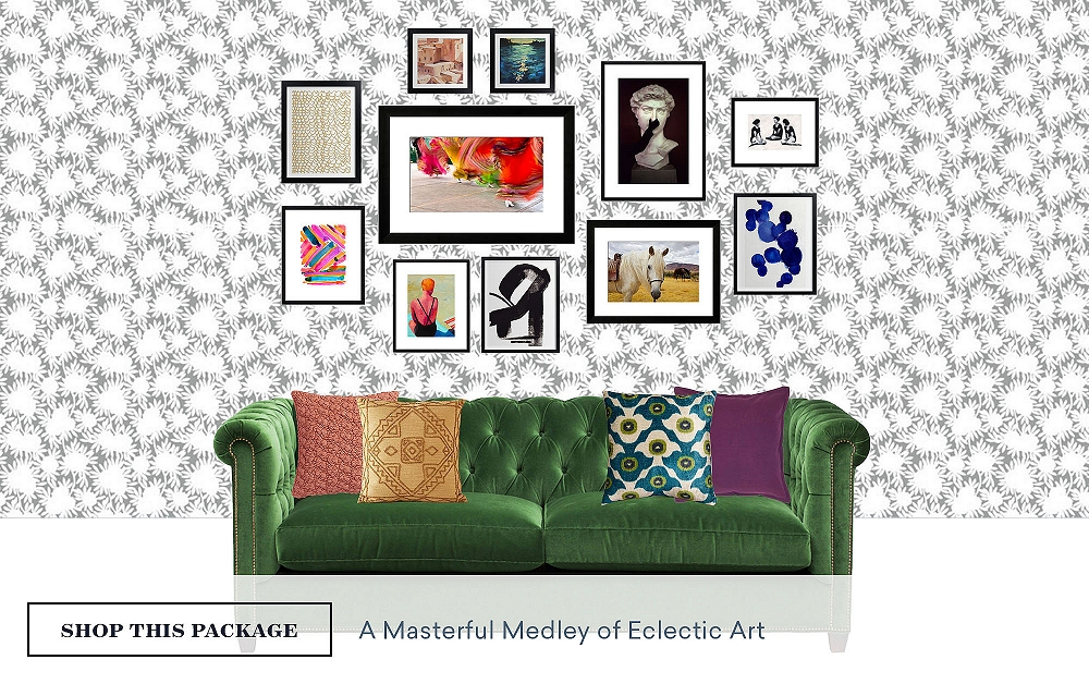 A Masterful Medley Of Eclectic Art