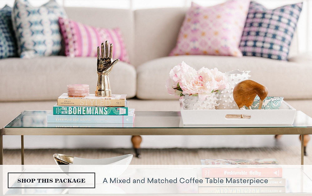A Mixed & Matched Coffee Table Masterpiece