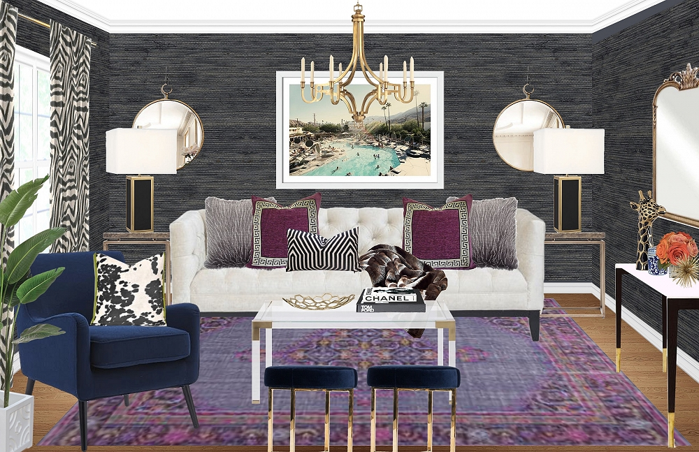 Design Madness: Glam Eclectic by Amy F.