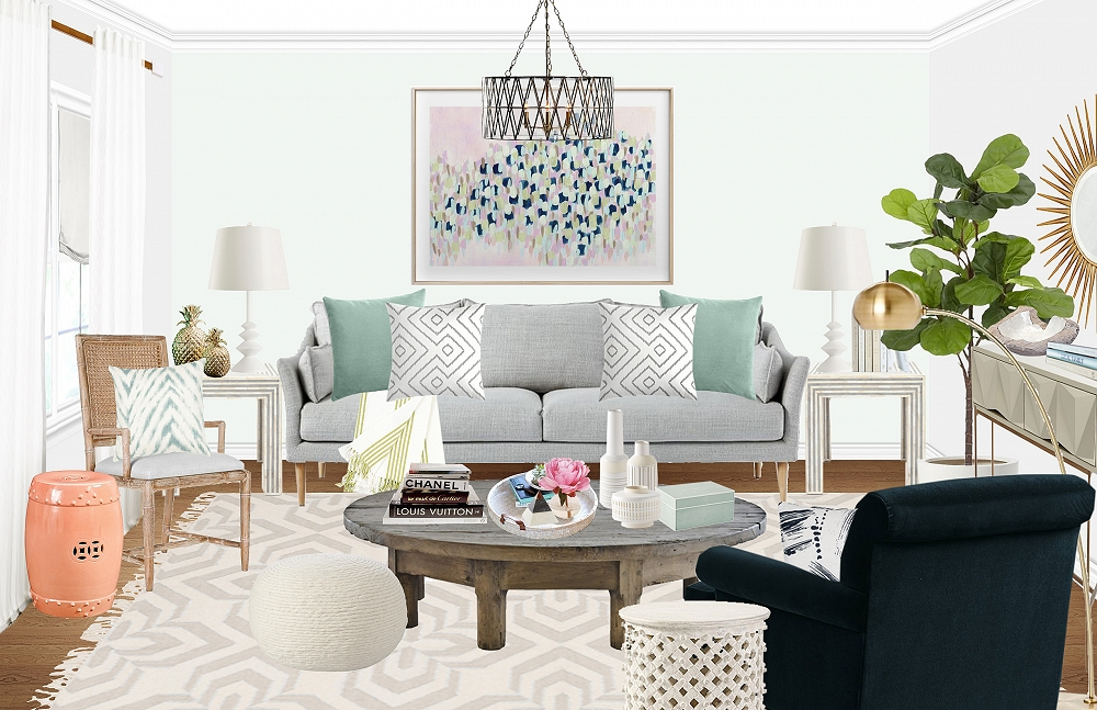 Design Madness: Eclectic Boho Glam by Stafford B.