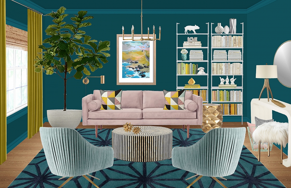 Design Madness: Mid-Century Glam by Griffin C.