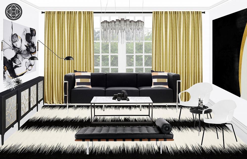 Fashion Week Home Inspiration: A Vera Wang Modern Room