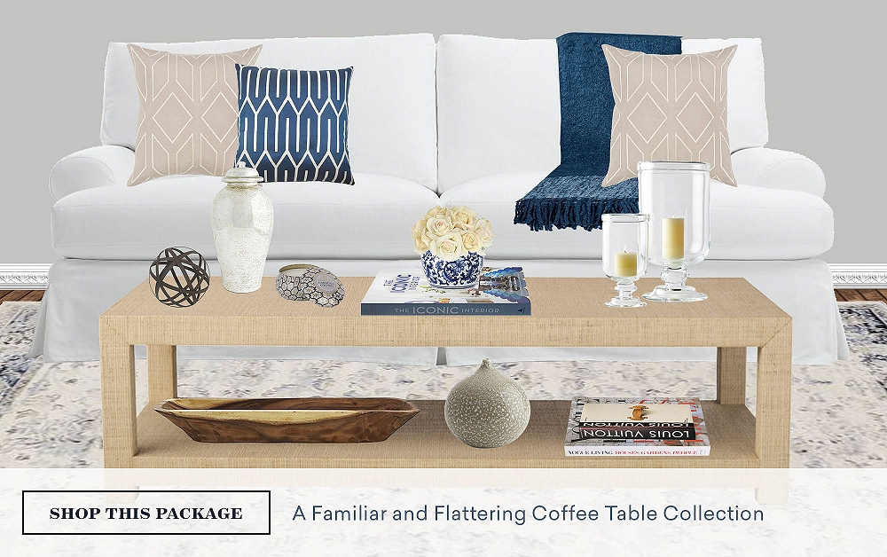 A Familiar & Flattering Coffee Table Collection
