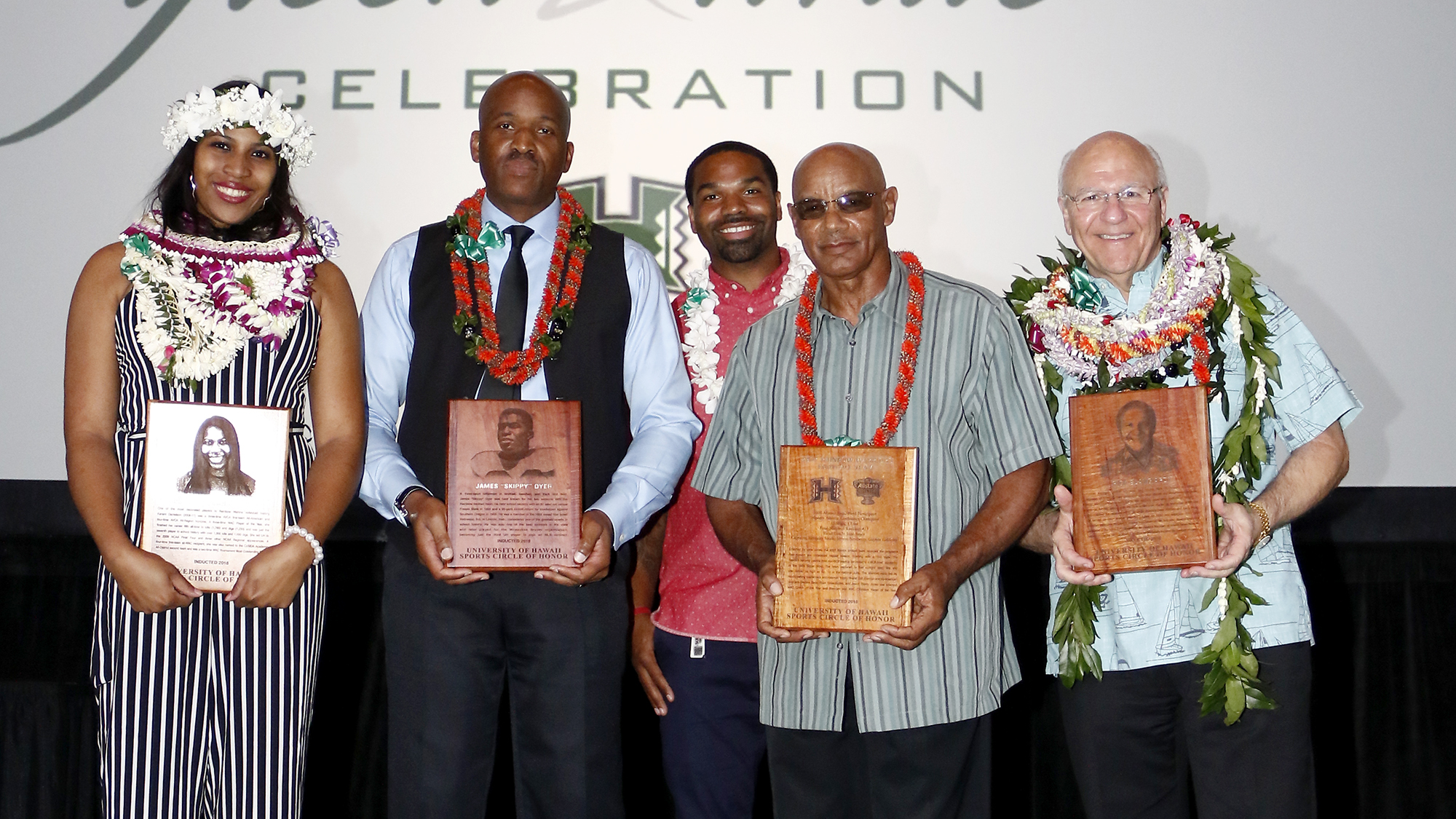 green white celebration honors class of 2018 inductees