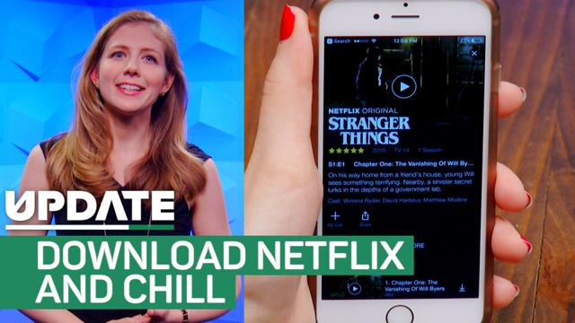 how to download shows offline netflix ipad
