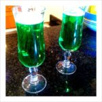 Green Champy on St. Patrick's Day… Don't Mind If I Do.