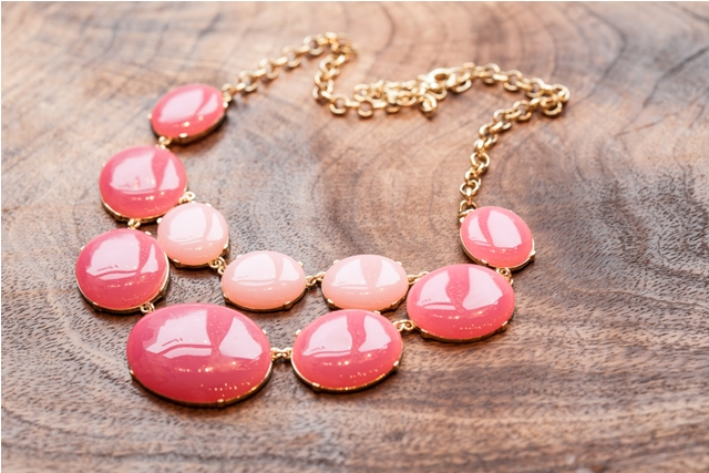 2-tone Pink Candy Necklace