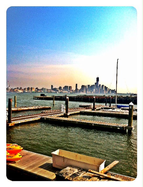 view at pier 13