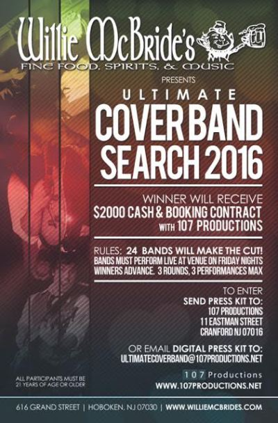 willies cover band search