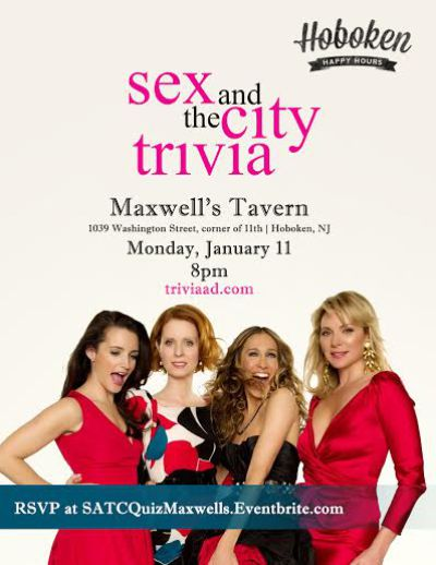 sex and the city trivia