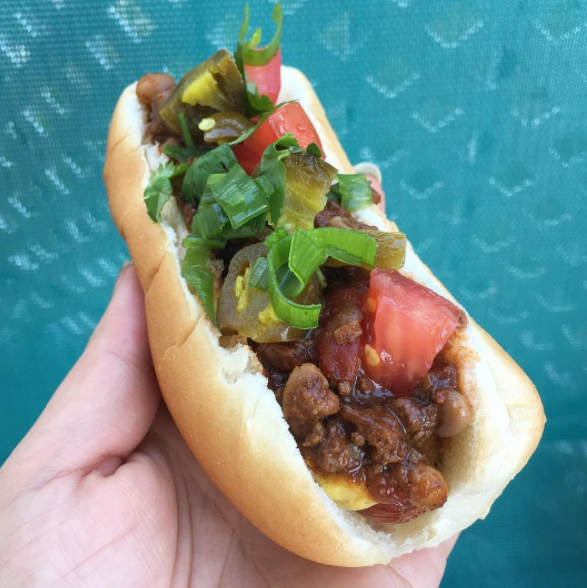 chili-dogs-made-with-leftover-chili