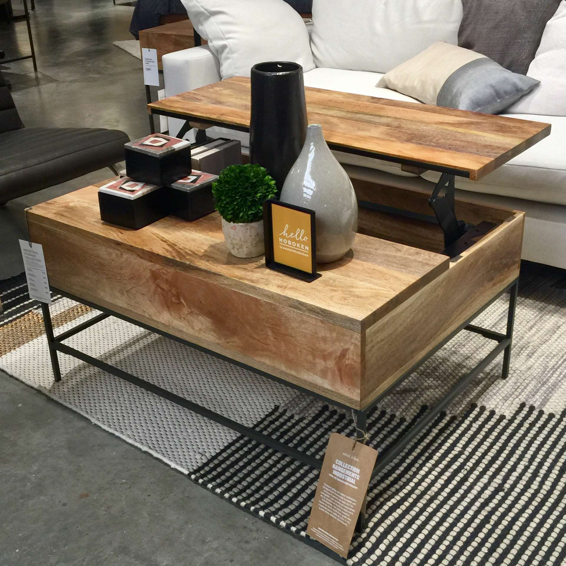 100 west elm coffee table with storage west elm coffee