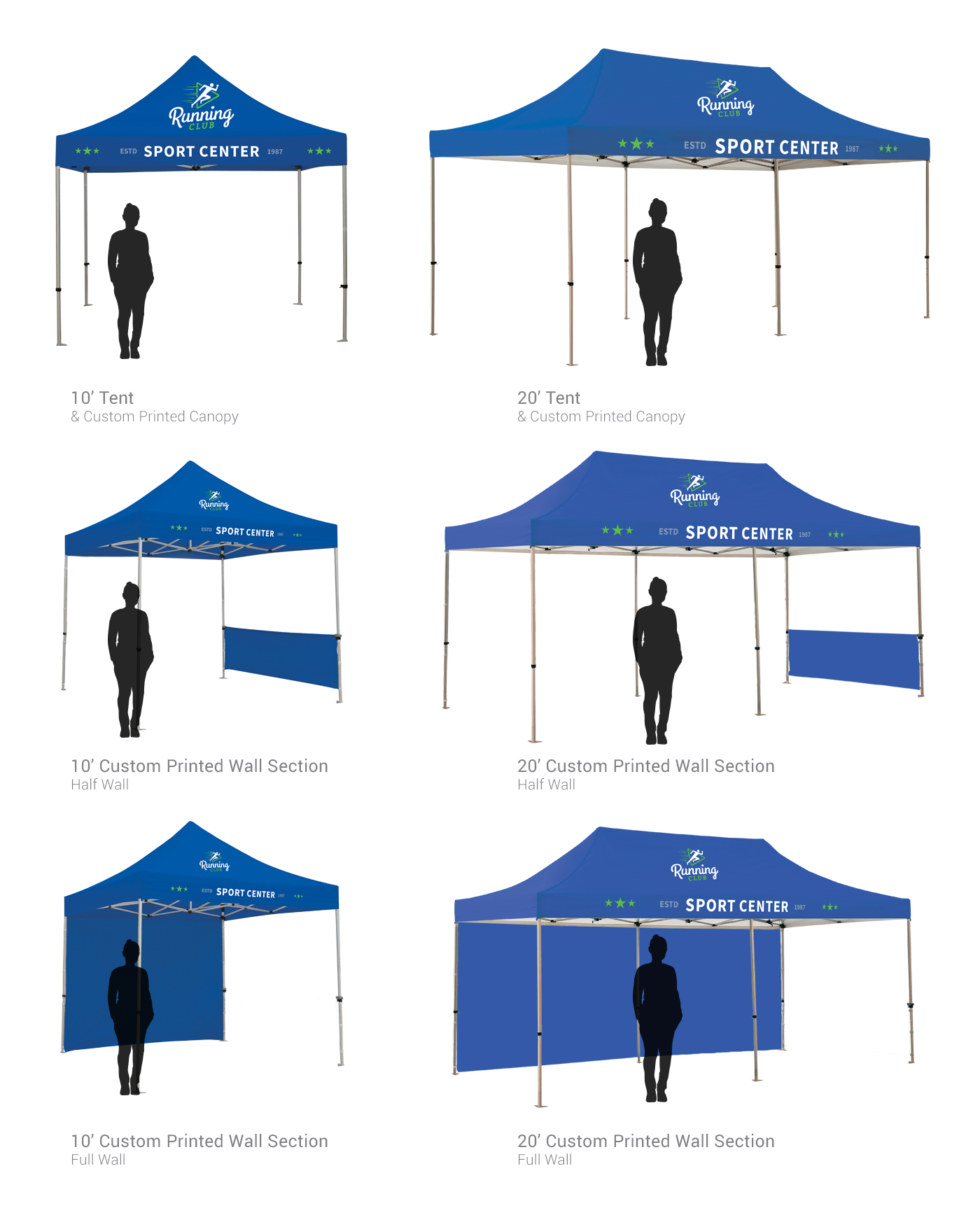 ... Half Wall Panels are available in standard color or custom digital print  sc 1 st  Hotcards : tent panels - memphite.com