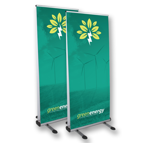 Double Sided Outdoor Retractable Banners