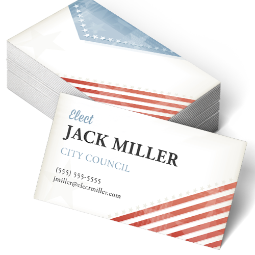 Political business cards custom business card printing design political business cards colourmoves