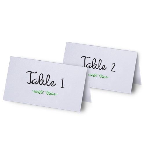 Wedding Table Seating Cards