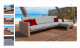 Outdoor Sofa 3D Model