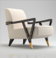 The Charles Club Chair 3D Model