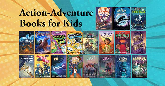 Action-Adventure Books for Kids