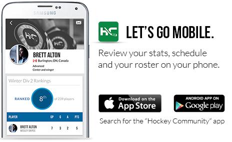 Hockey Community Mobile App