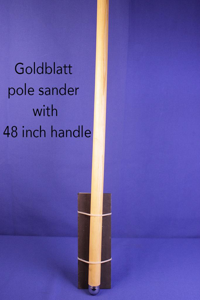Goldblatt pole sander with 48 inch handle.