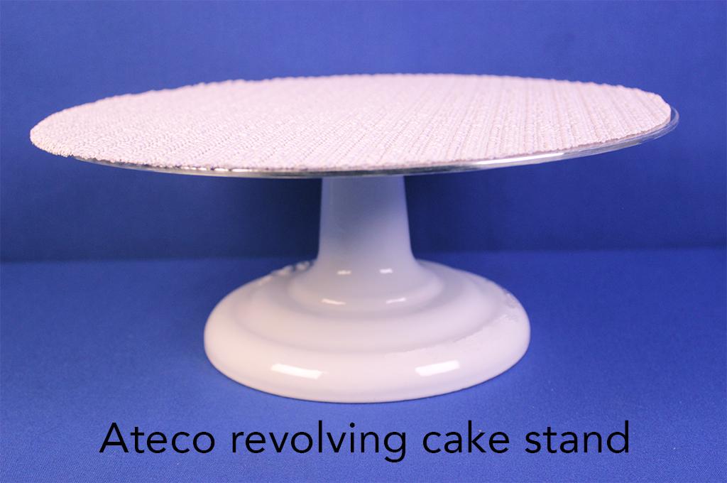 Ateco revolving cake stand.