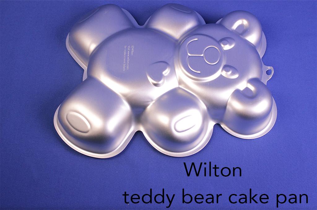 Wilton teddy bear cake pan.