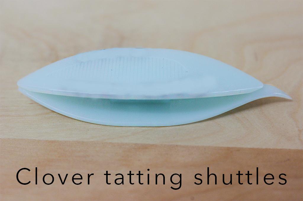 Clover tatting shuttles.