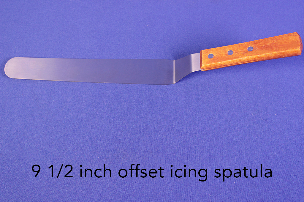 9 1/2 inch offset icing spatula.