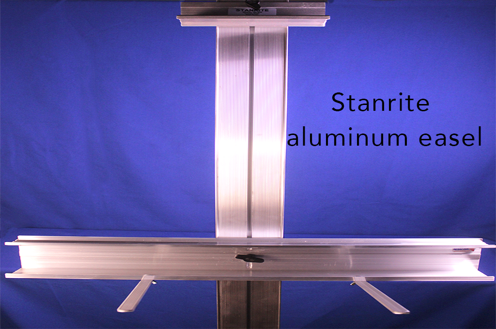 Stanrite aluminum easel
