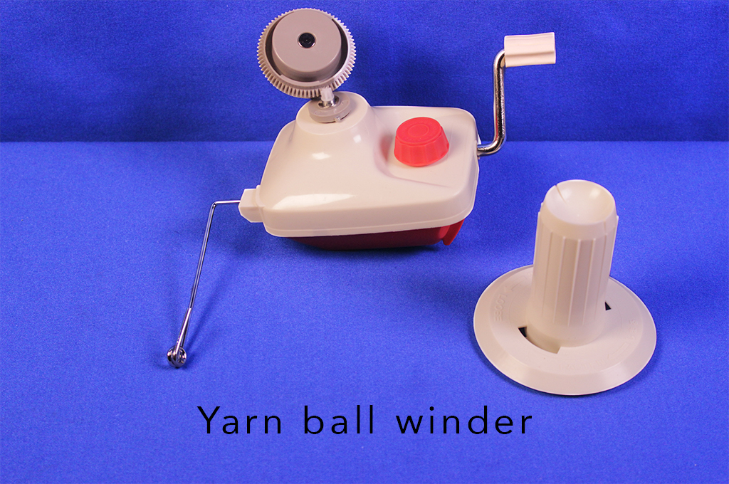 Yarn ball winder.