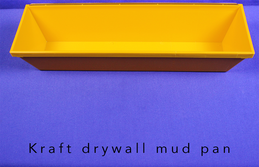 Kraft drywall mud pan