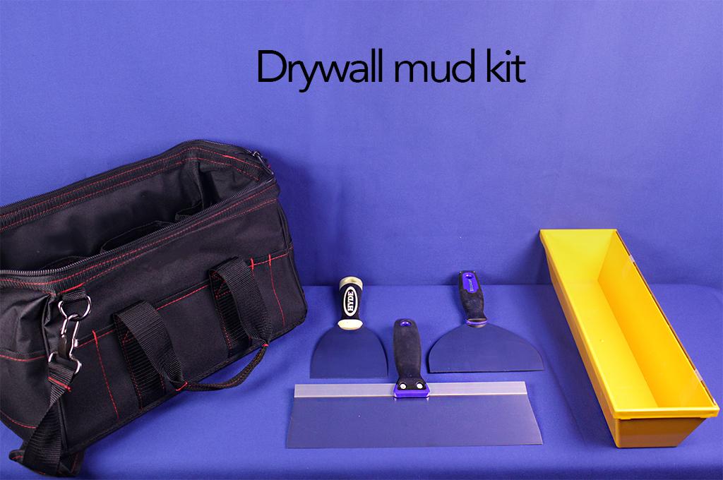 Drywall mud kit.