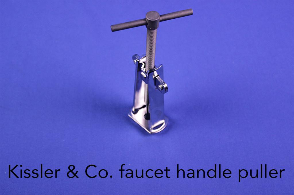 Kissler & Co. faucet handle puller.