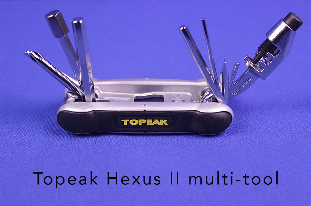 Topeak Hexus II multi-tool.