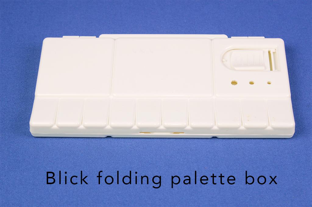 Blick folding palette box.