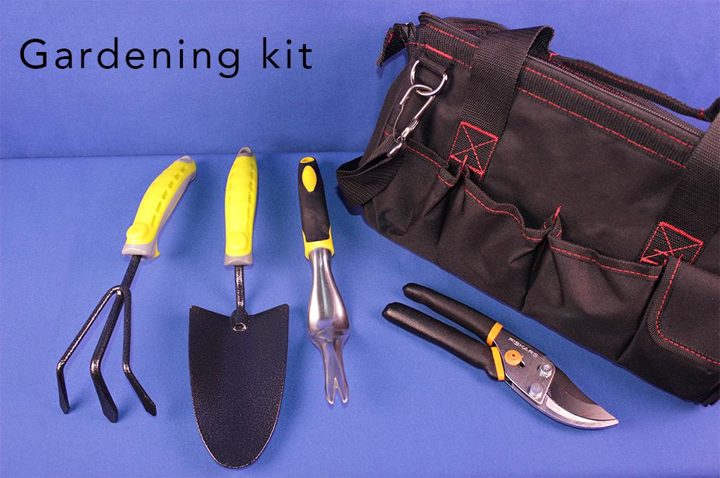 Gardening kit.