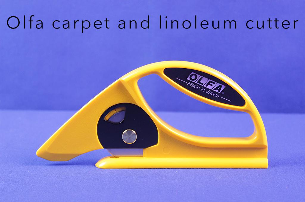 Olfa carpet and linoleum cutter.