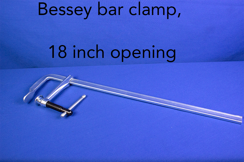Bessey bar clamp, 18 inch opening