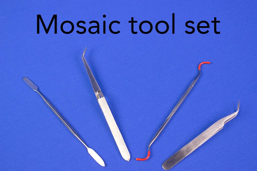 Mosaic tool set.