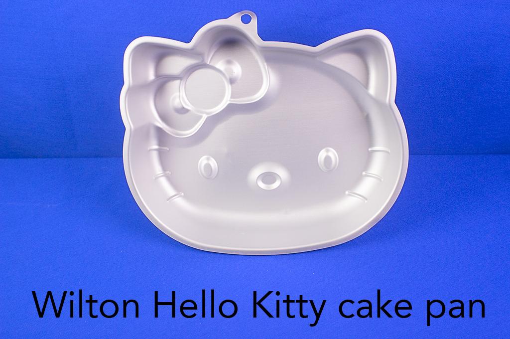 Wilton Hello Kitty cake pan.